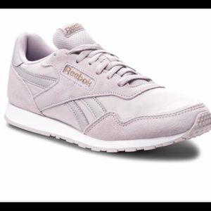 Reebok Classic Suede Lilac Royal Ultra shoes 8